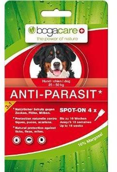 Bogacare Anti-Parasit Spot-on dog Maxi 4x2.5 ml
