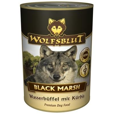 Wolfsblut Black Marsh au buffle d'eau avec de la citrouille  395 g, 6x1.2 kg