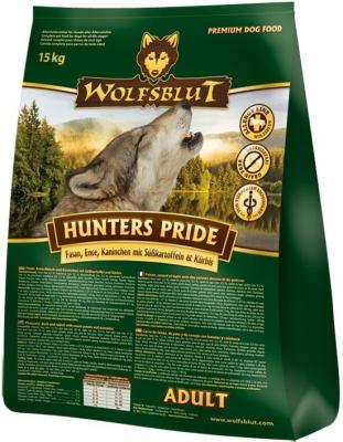 Wolfsblut Hunters Pride Adult  7.5 kg, 500 g, 2 kg, 15 kg
