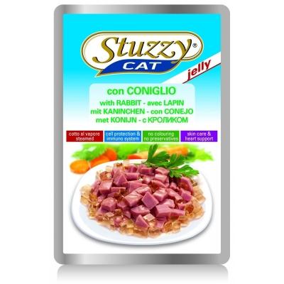 Stuzzy Cat Sacchetto Jelly con Coniglio 100 g