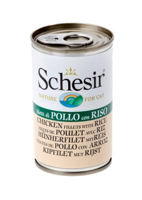 Schesir Natural  - kana & riisi 140 g