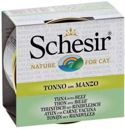 Schesir Cat Tuna with beef in broth  70 g