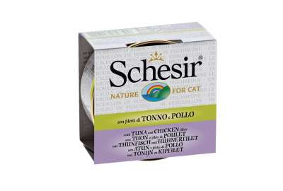 Schesir Cat Broth Tuna with white meat 70 g