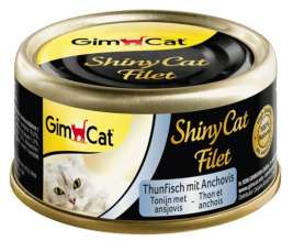 ShinyCat Filet Tonijn met Ansjovis GimCat 4002064412924