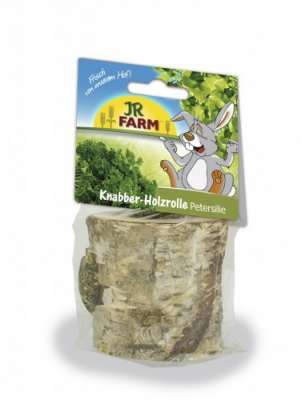 JR Farm Knabber - Holzrolle Petersilie  100 g