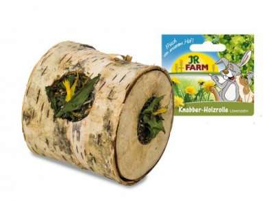 JR Farm Knabber - Holzrolle Löwenzahn  100 g
