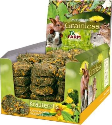 JR Farm Grainless Kräuterolis Löwenzahn - Sonnenblume  70 g