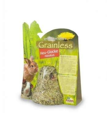 JR Farm Grainless Heu-Glocke Hibiskus  125 g