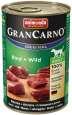 Animonda GranCarno Original Adult Nauta & Riista 400 g