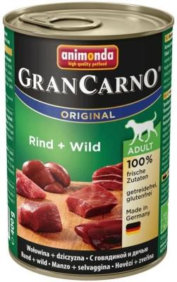 Animonda GranCarno Original Adult Nauta & Riista  400 g, 800 g