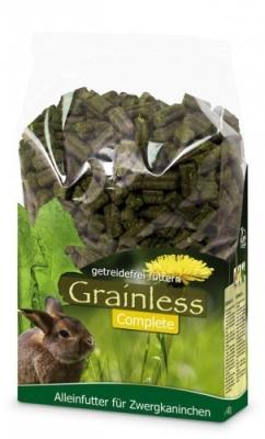 JR Farm Grainless Complete Zwergkaninchen  3.5 kg, 15 kg, 1.35 kg