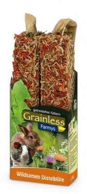 JR Farm Farmys Grainless Wildsamen-Distelblüte  140 g