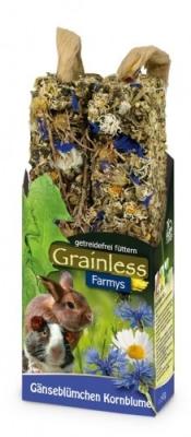 JR Farm Grainless Farmys Gänseblümchen- Kornblume  140 g