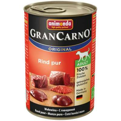 Animonda GranCarno Original Adult Beef Pur  400 g, 800 g