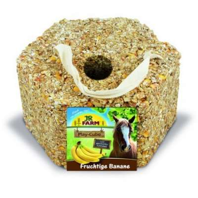 JR Farm Horse Play - Cube Banane  1.75 kg