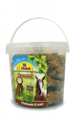 JR Farm Horse Valentinis Pfefferminze & Leinöl 1 kg