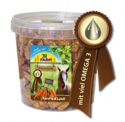 JR Farm Horse Valentinis Karotte & Leinöl  1 kg