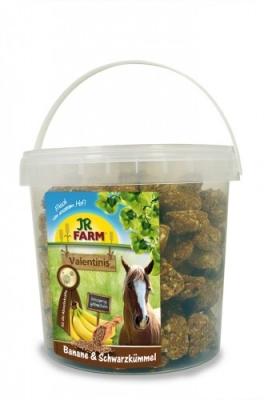 JR Farm Horse Valentinis Banana y Comino negro  1 kg