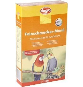 Degro Feinschmecker-Menü für Großsittiche  1 kg