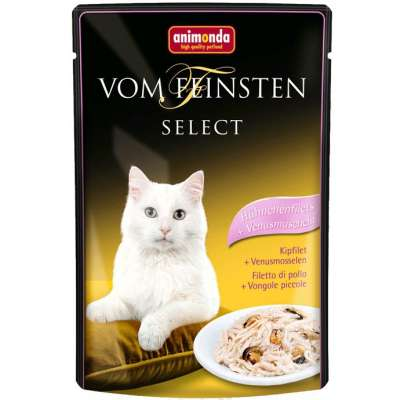 Animonda Vom Feinsten Select Hühnchenfilet + Venusmuscheln 22x85 g