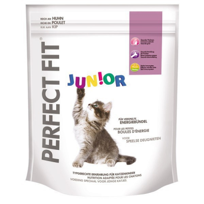Perfect Fit Kissa Junior runsaasti Kanaa 750 g