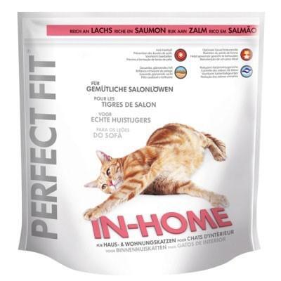 Perfect Fit Kissa In-Home runsaasti Lohta 750 g, 1.4 kg