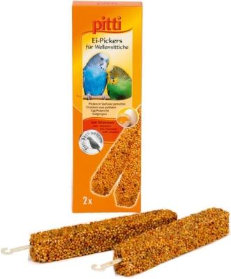 Pitti Ei-Pickers für Wellensittiche  2Stück