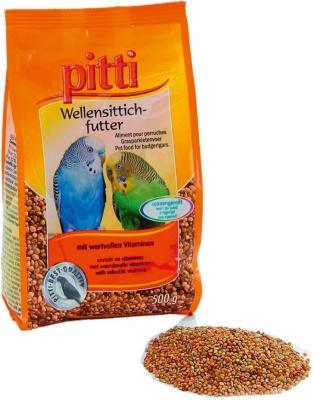 Pitti Wellensittichfutter  500 g