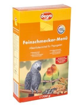 Degro Feinschmecker-Menü für Papageien  750 g