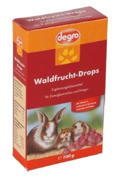 Degro Waldfrucht-Drops  100 g