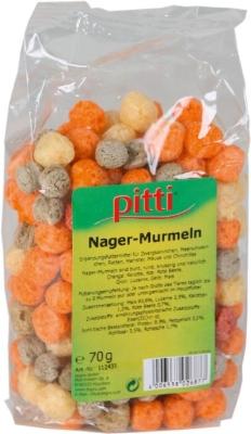 Pitti Nager-Murmeln  70 g