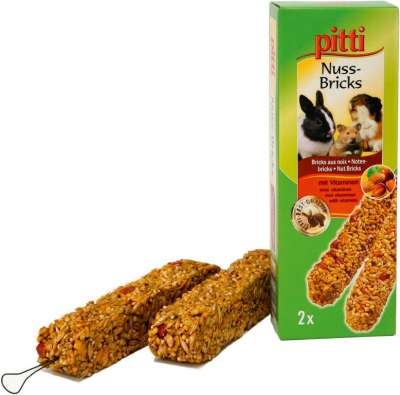 Pitti Nuss-Bricks  2Stück