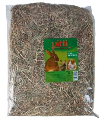 Pitti Heu mit Apfelchips 1 kg