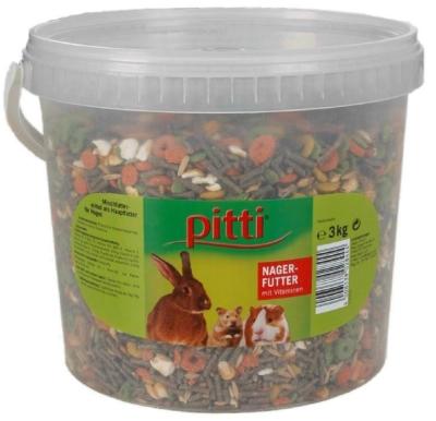 Pitti Nagerfutter mit Vitaminen  3 kg