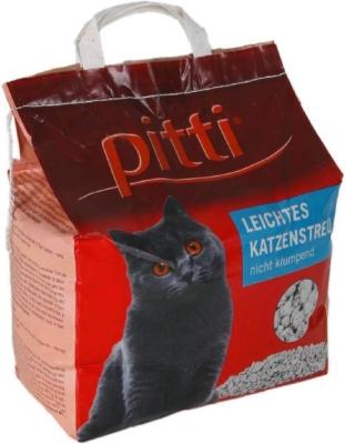 Pitti Leichtes Katzenstreu nicht klumpend 2 kg