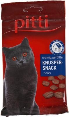 Pitti Cremig gefüllter Knusper Snack Indoor 50 g