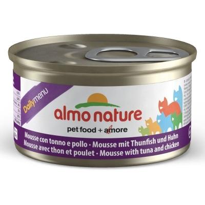 Almo Nature DailyMenu Mousse mit Thunfisch und Huhn 85 g