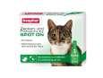Beaphar Zecken- und Flohschutz Spot-on, für Katzen 3x0.8 ml