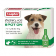 Flea and Tick Spot On Solution for Small Dogs (up to 15 kg) Beaphar 3x1 ml