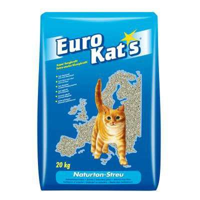 Eurokat's Natural Clay Litter in paper bag 20 l