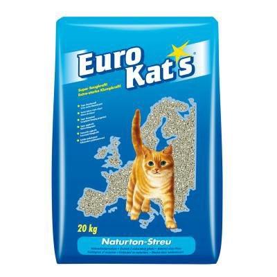 Eurokat's Naturton Streu im Papierbeutel 20 l