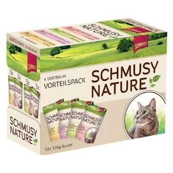 Schmusy Nature´s Menü Multipack Pouch 12x100 g