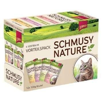 Schmusy Nature's Menu Multipack Pouch 12x100 g