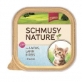 Schmusy Nature's Menu Kitten Salmon & Lamb Tray 100 g