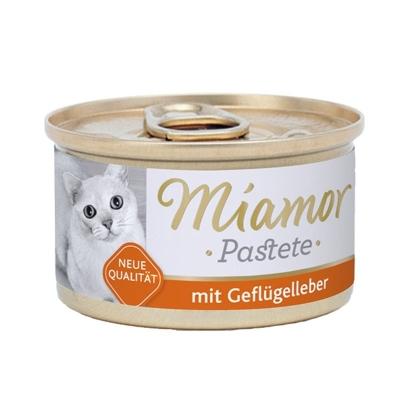 Miamor Fleischpastete Geflügelleber 85 g