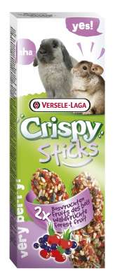 Versele Laga Crispy Sticks Fruits des Bois pour lapins et chinchilas
