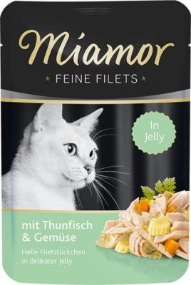 Miamor Feine Filets Pouchbeutel Thunfisch & Gemüse 100 g