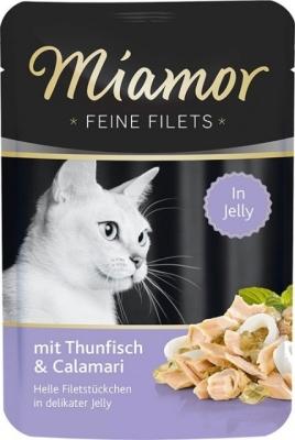 Miamor Feine Filets Thun & Calamari 100 g