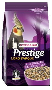 Versele Laga Prestige Australian Parakeet Loro Parque Mix  20 kg, 2.5 kg, 1 kg