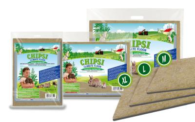 Chipsi Climate Floor Hanfmatten 600 g